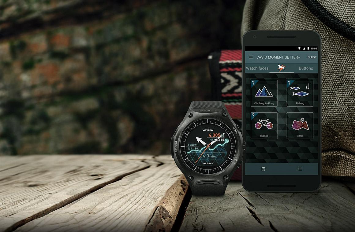 Умные часы от Сasio smart watch для смартфона