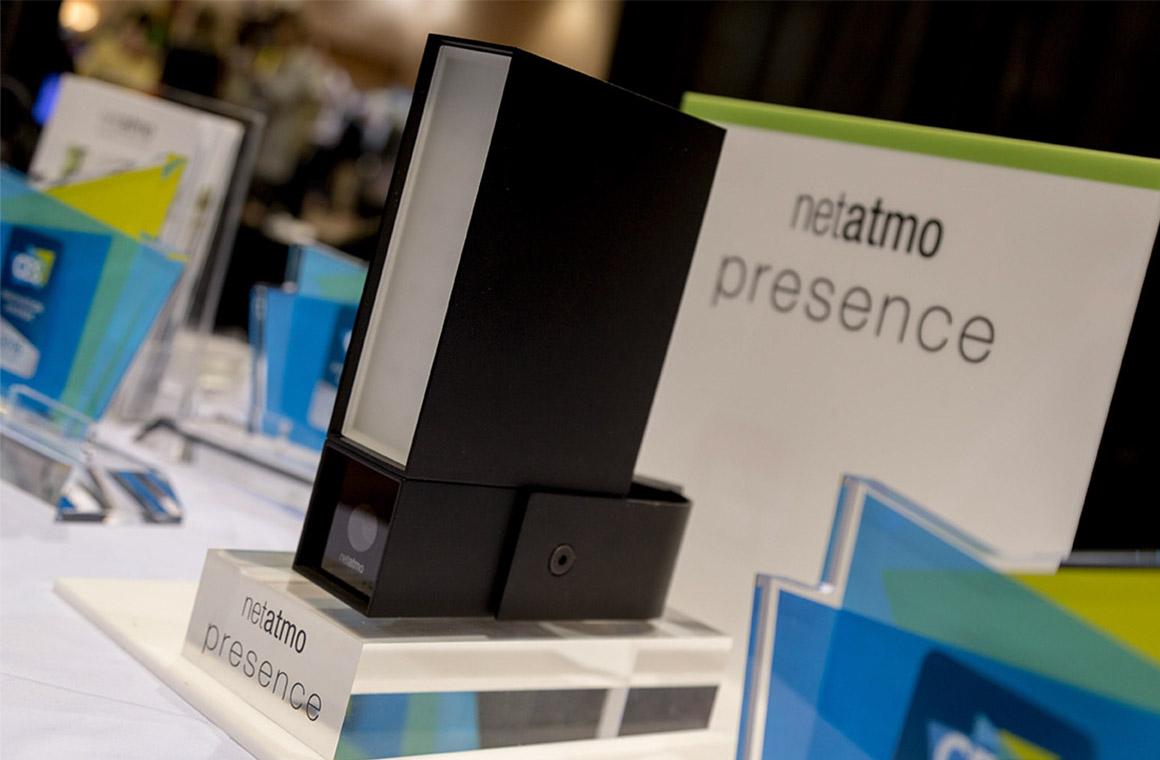 Netatmo Presence на CES2016