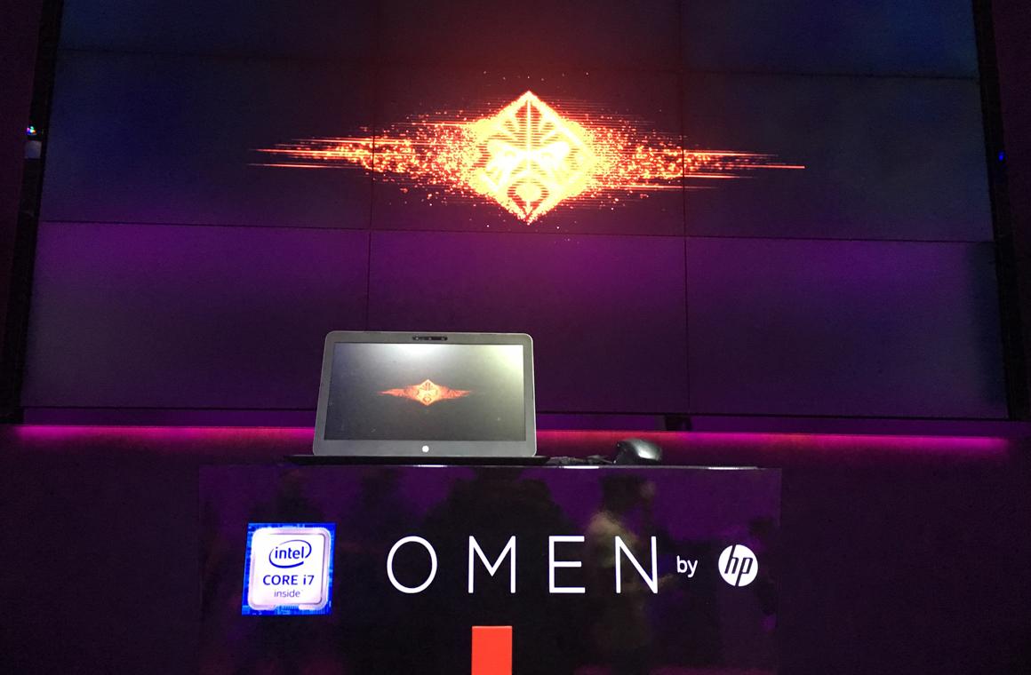 Дизайн ноутбука HP Omen