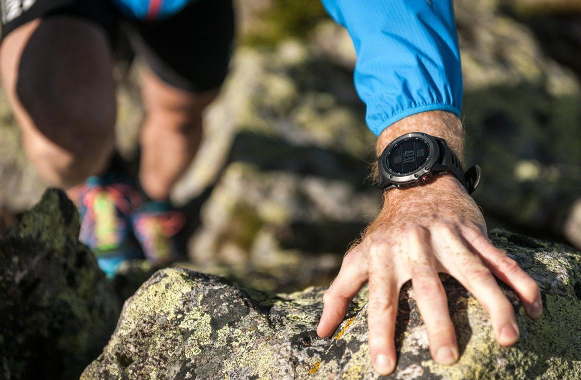 Garmin Fenix 3 hiking