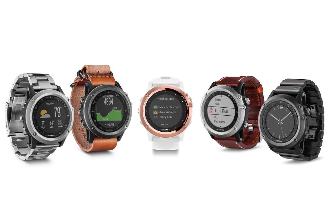 часы Garmin Fenix 3 модели