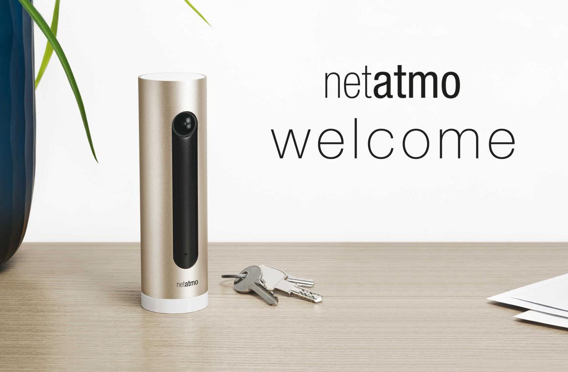 Камера для дома Netatmo Welcome