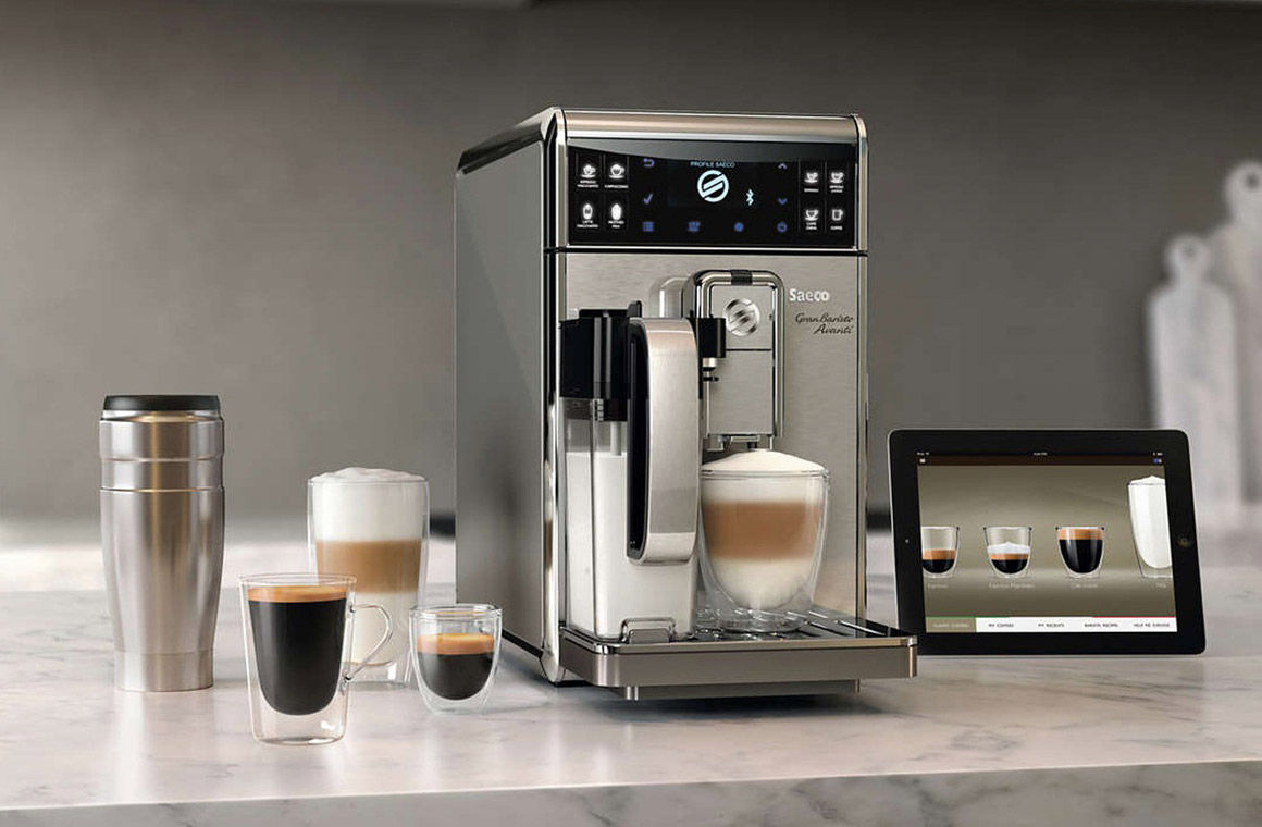 умная кофемашина phillips