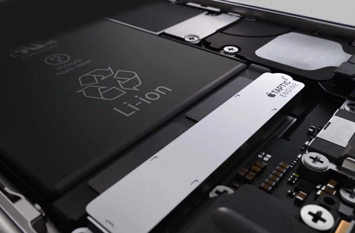 емкость аккумулятора iPhone 7