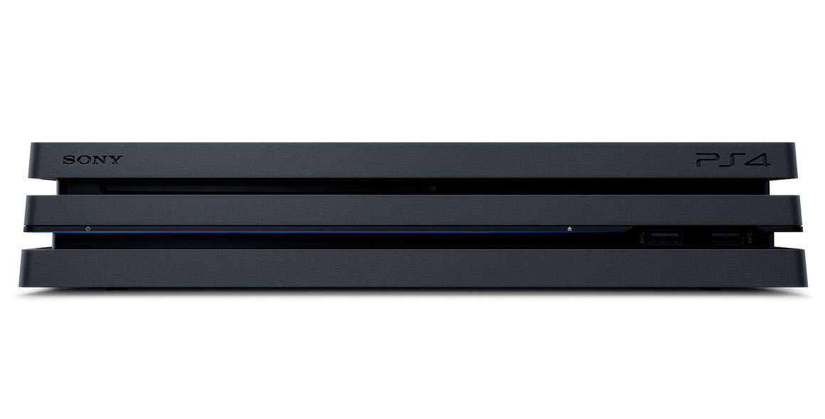 Sony PlayStation 4 Pro Front