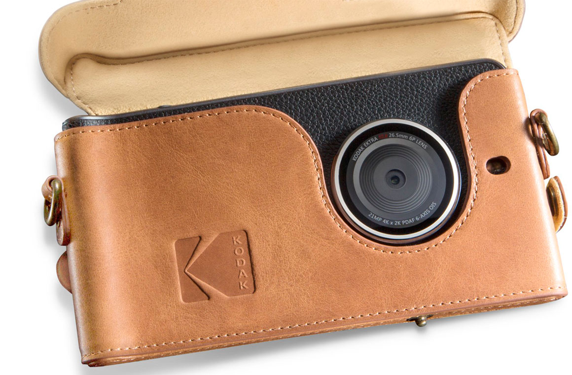 Kodak Ektra Leather Case