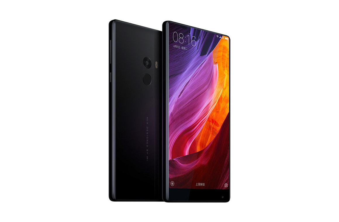Xiaomi MiMix дизайн