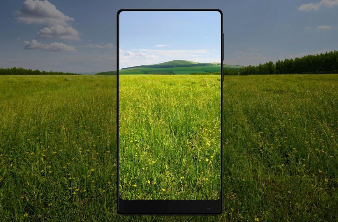 Xiaomi MiMix без рамок