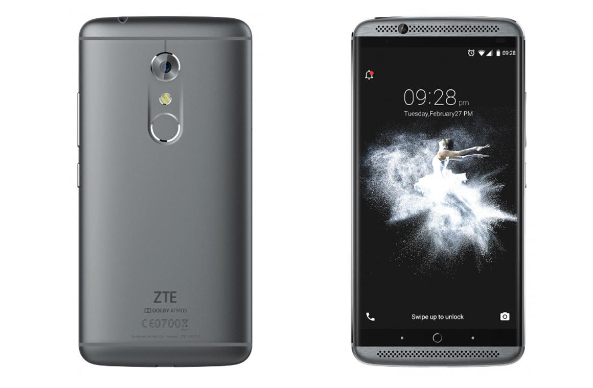 ZTE Axon 7 Quad HD Display