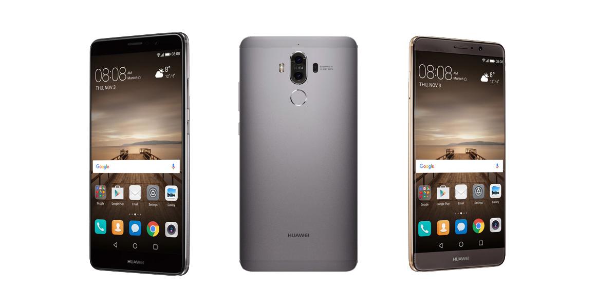 Huawei Mate 9 дизайн