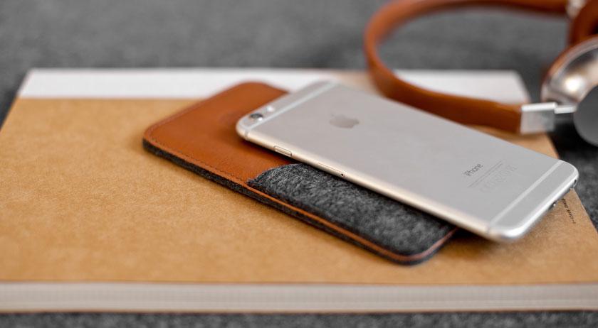 кожаные чехлы Handwers для iPhone