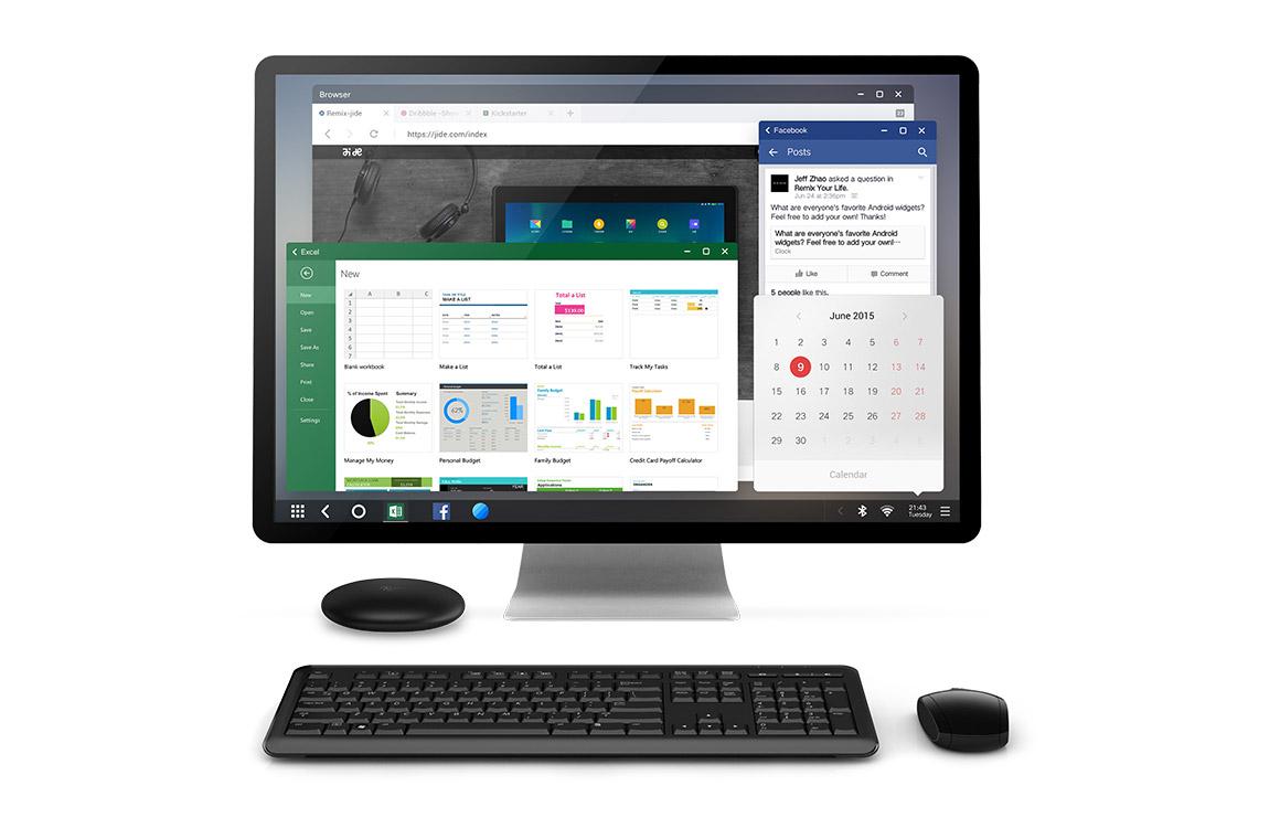 Android PC Remix Mini