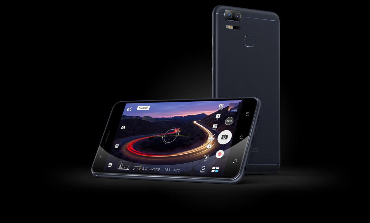 Asus ZenFone 3 Zoom камера