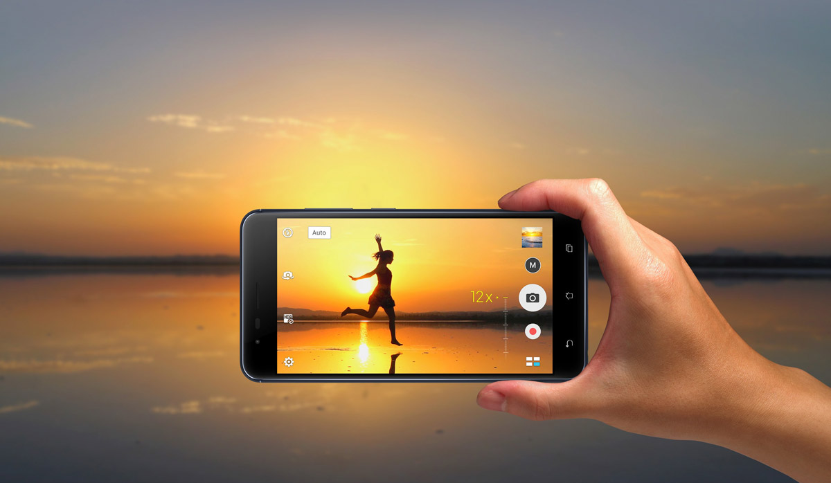 Asus ZenFone 3 Zoom 12 кратное увеличение