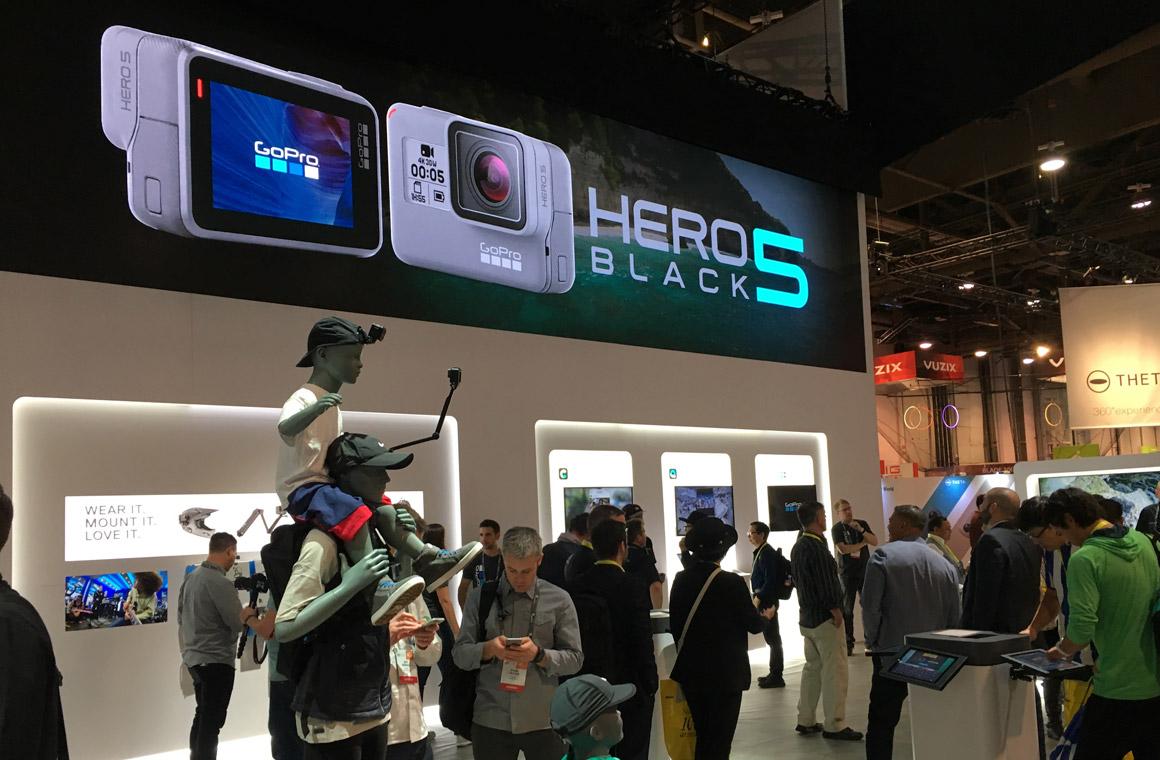 GoPro на CES 2017