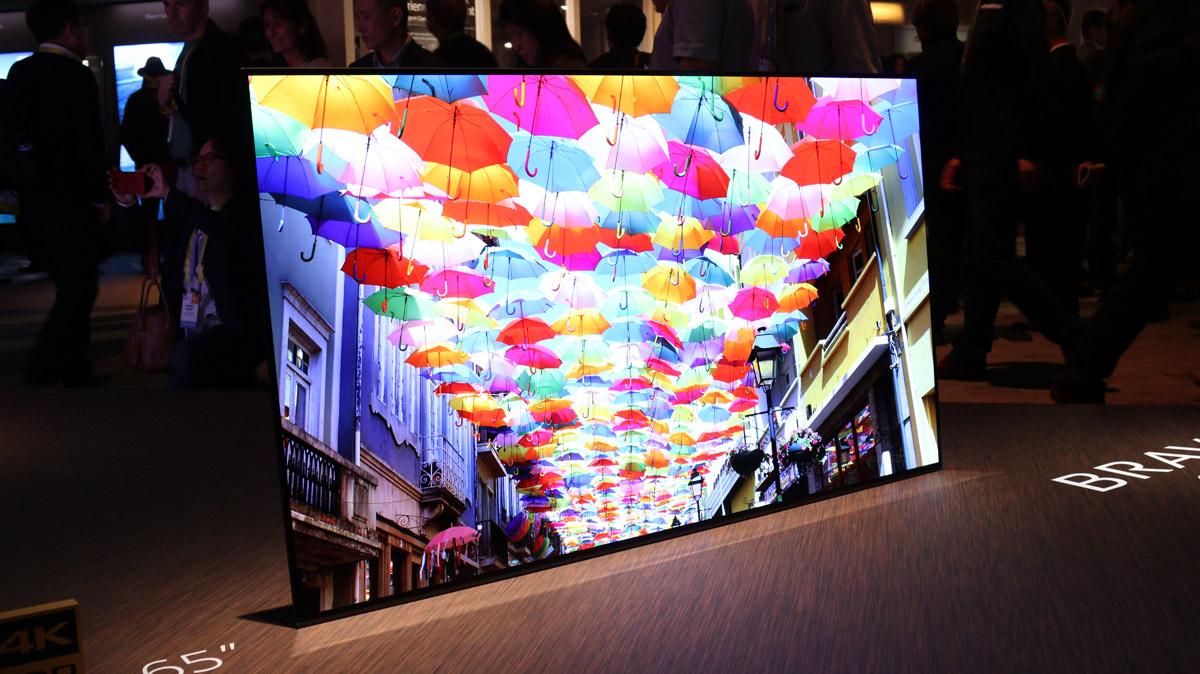 Sony Bravia OLED A1 цветопередача