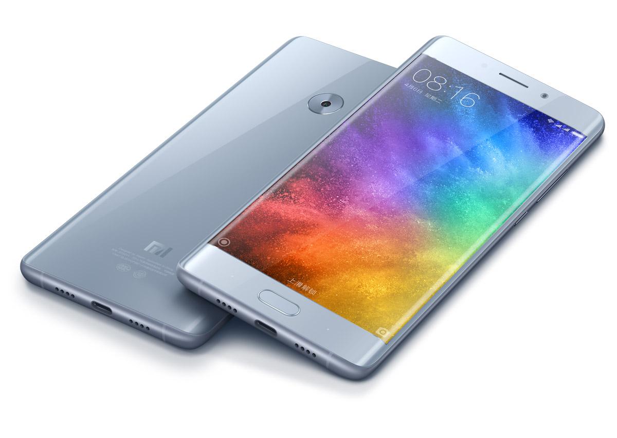 Xiaomi Mi Note 2 серого цвета