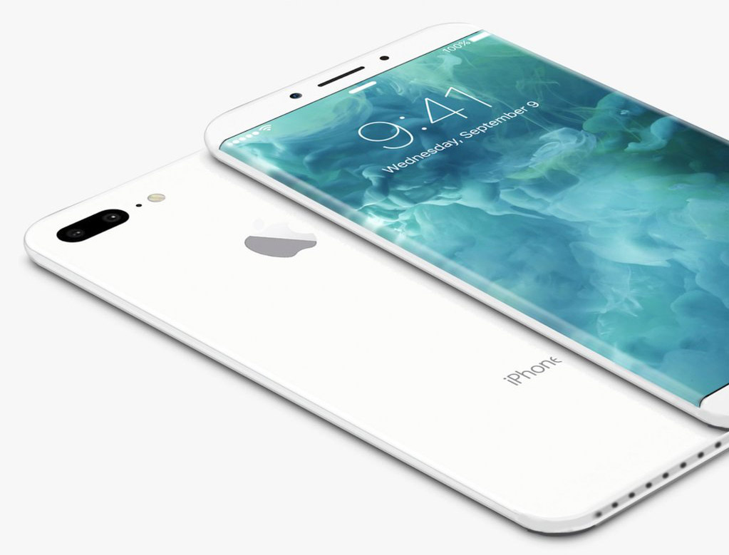 iPhone 8 Concept Jet White