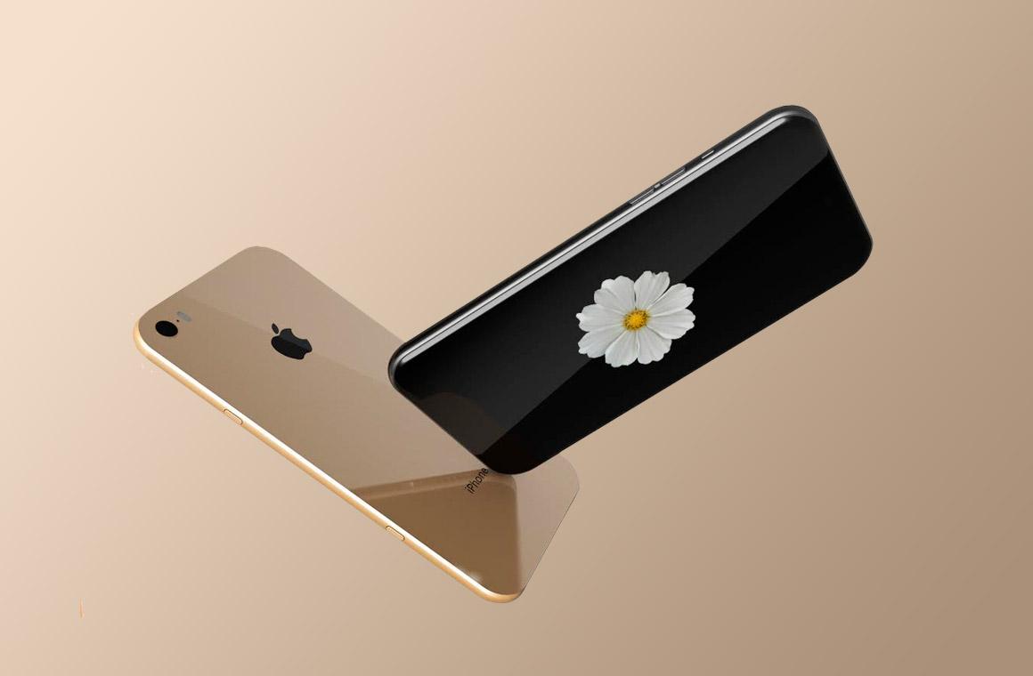 В новом iPhone 8 возможно не будет кнопки Home