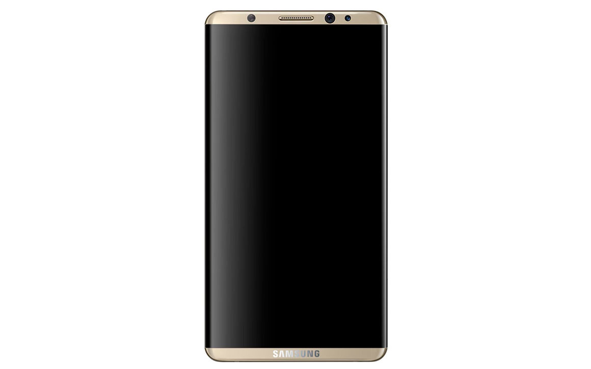 samsung galaxy s8 official render