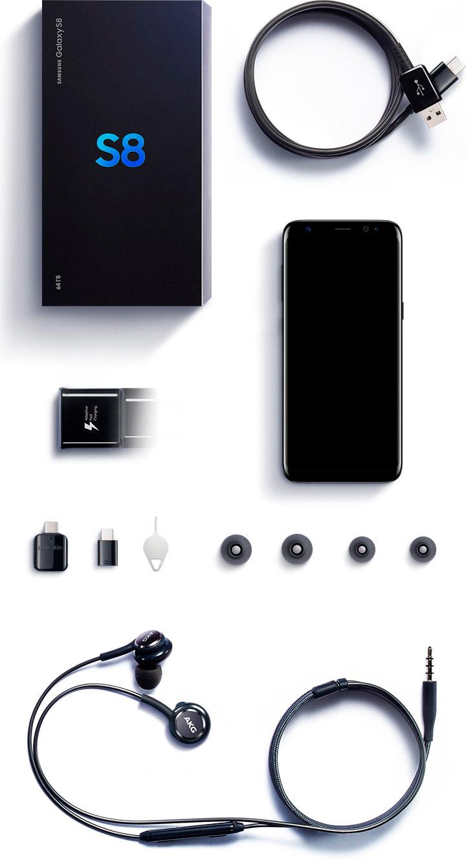 Samsung Galaxy S8 комплектация