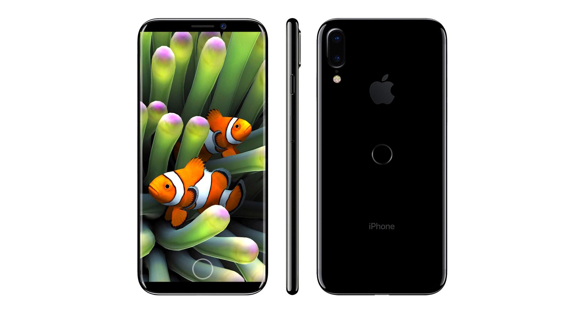 iphone 8 fingerprint sensor