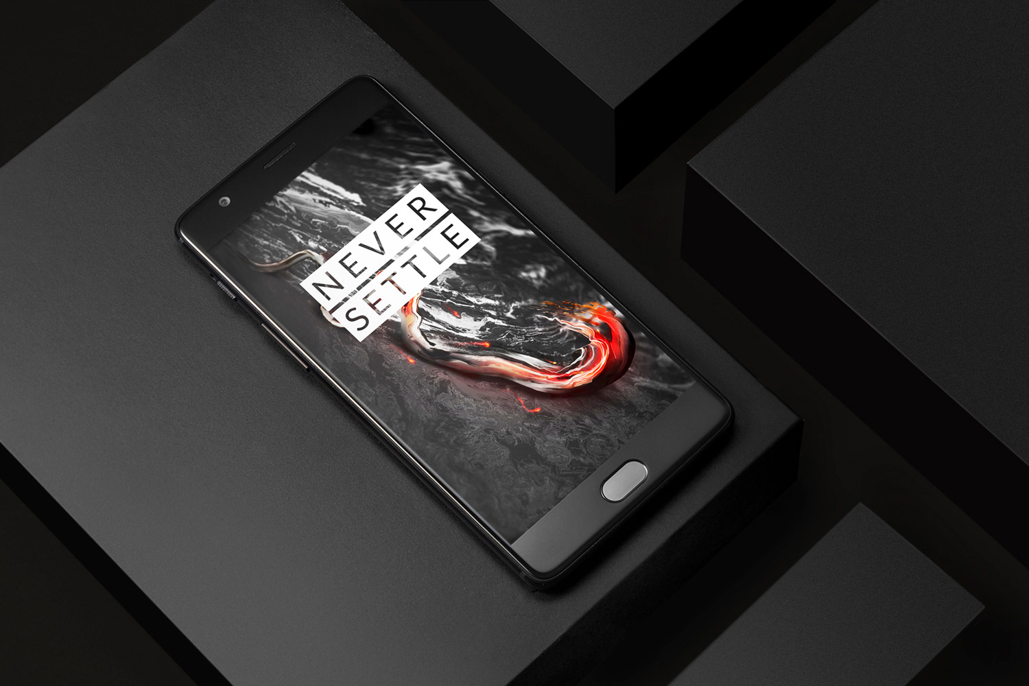 oneplus 3t midnight black display