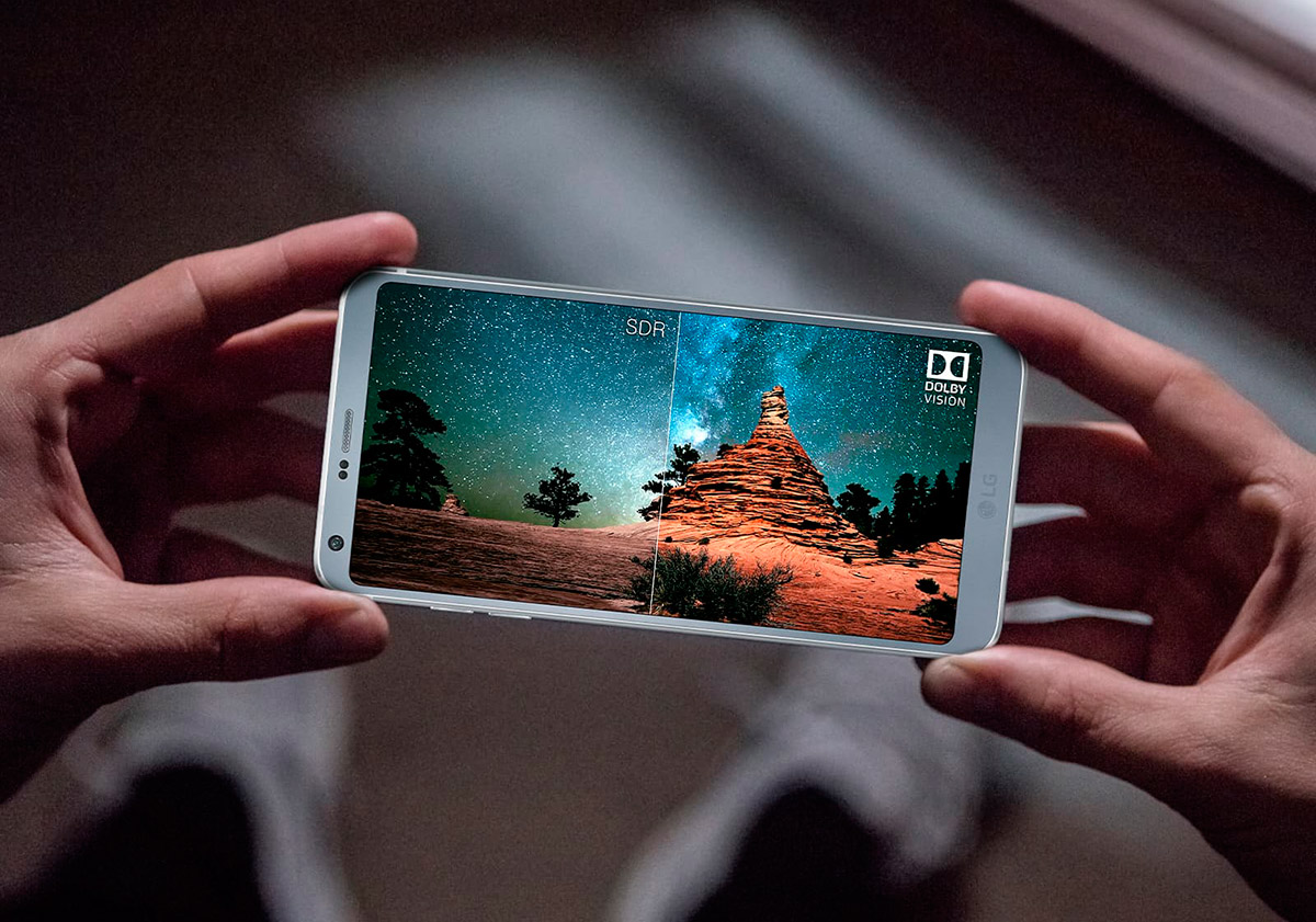 LG G6 дисплей