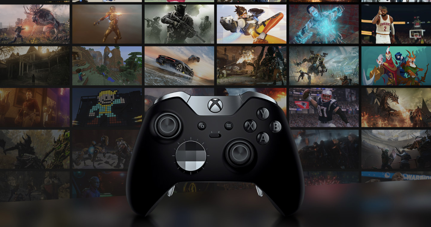 Xbox One X gamepad