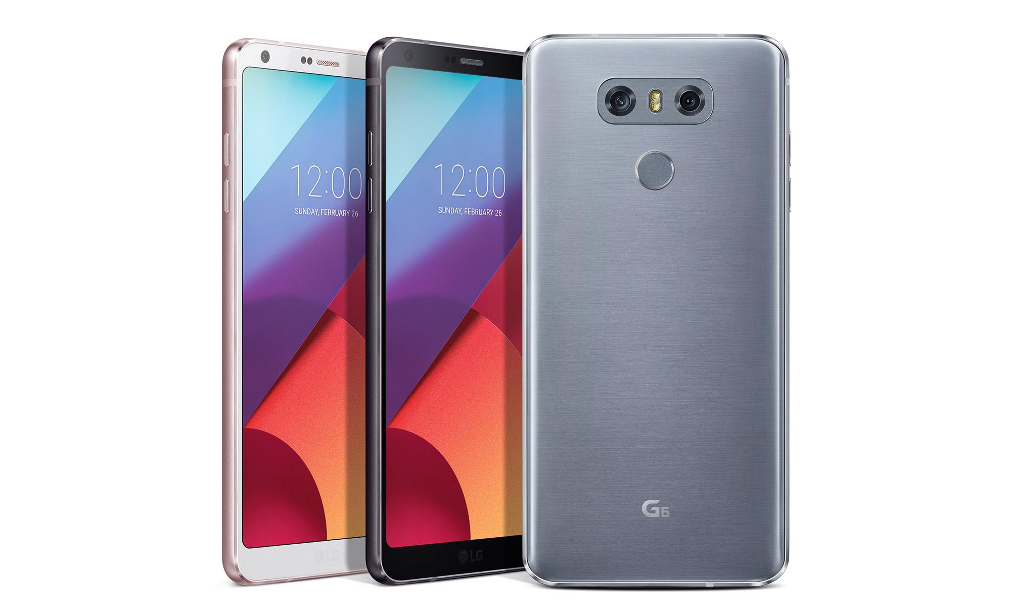lg g7 colors