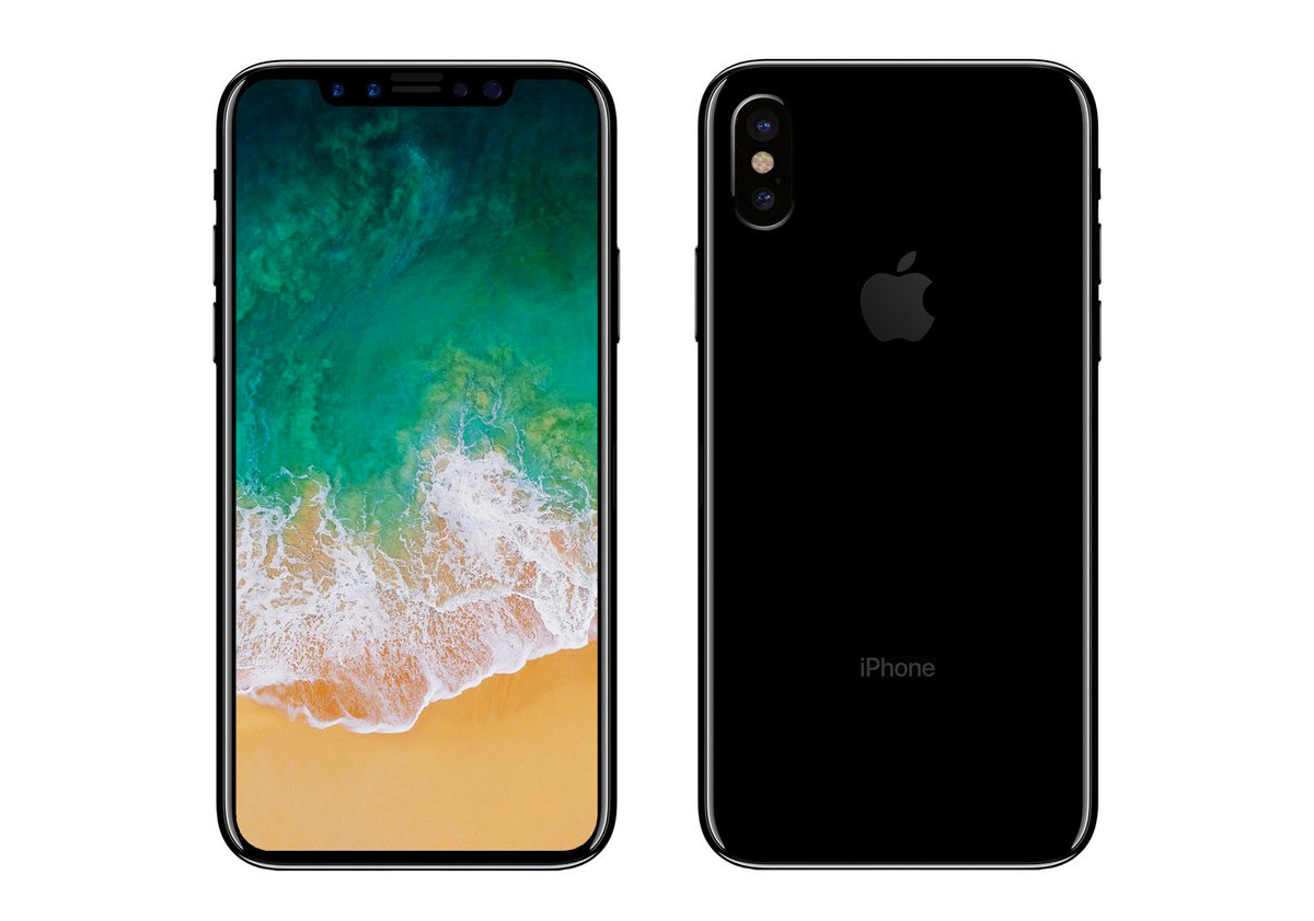 iPhone 8 back & front