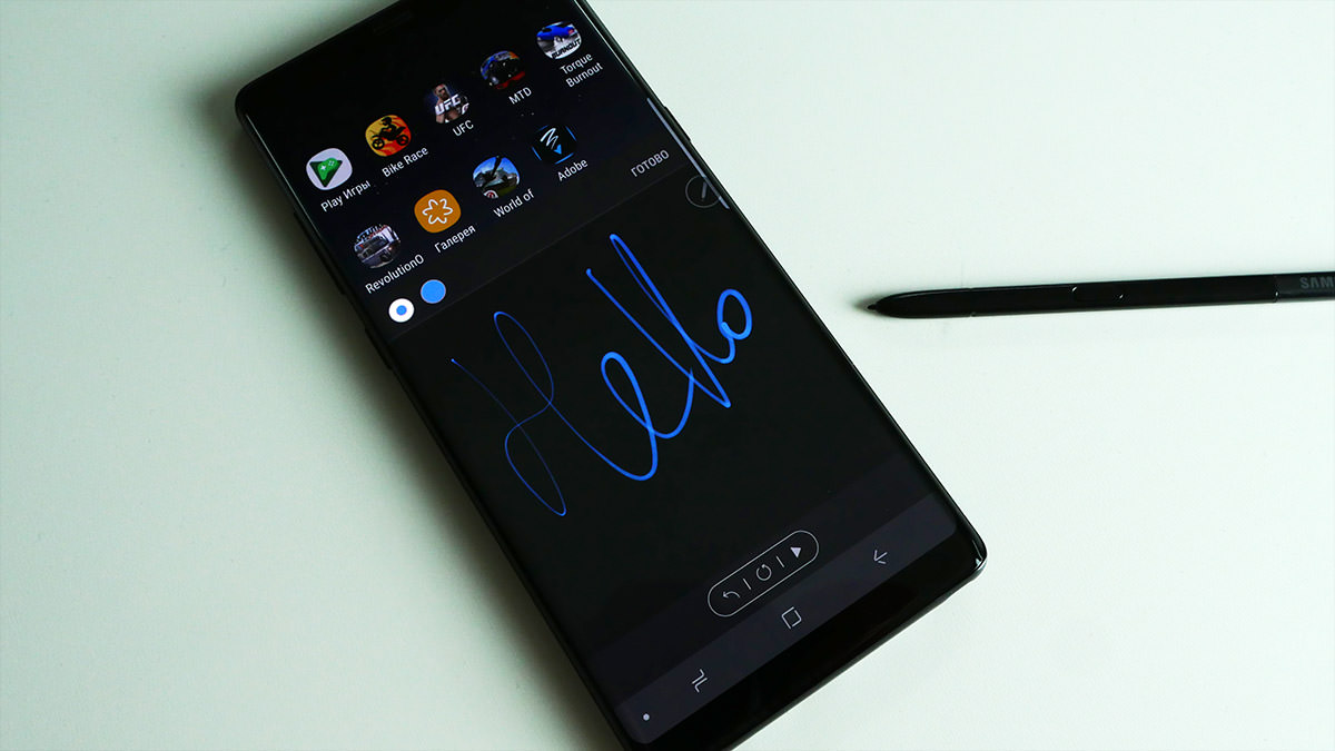 Galaxy Note 8 характеристики