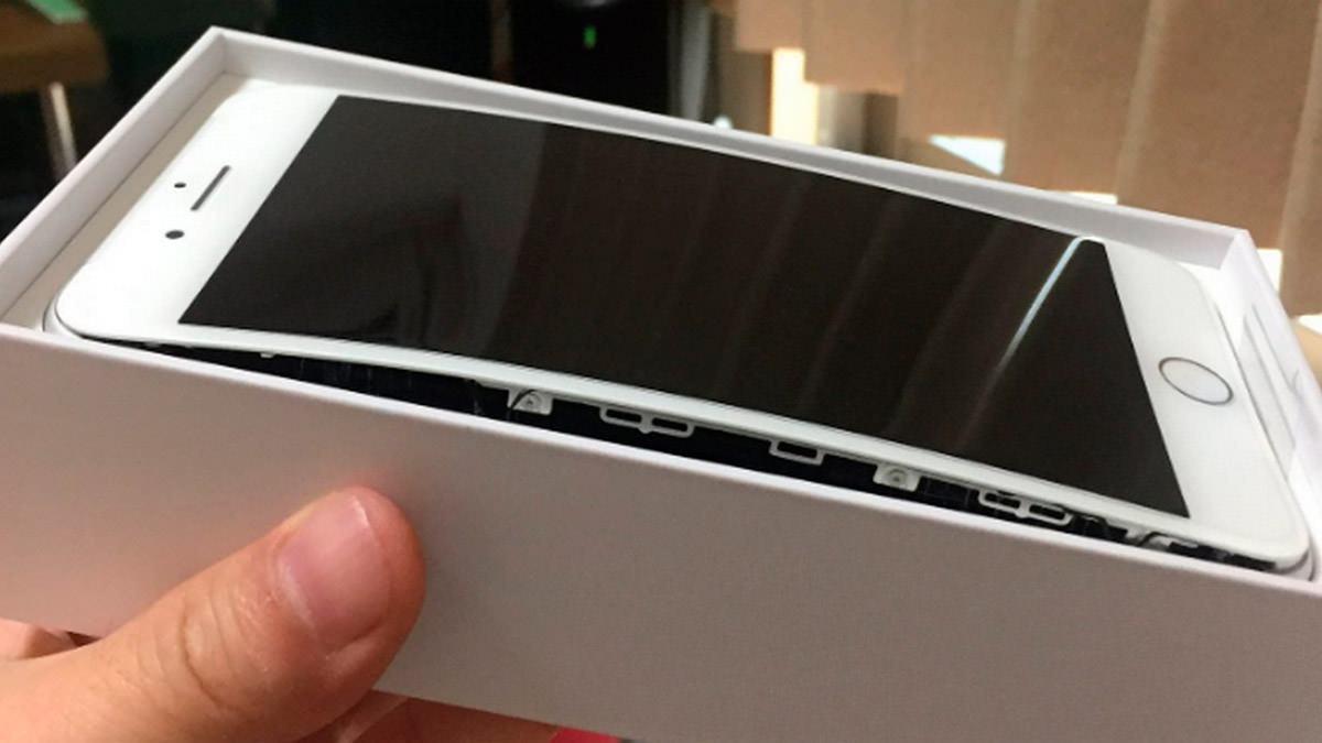 iphone 8 вздувается батарея