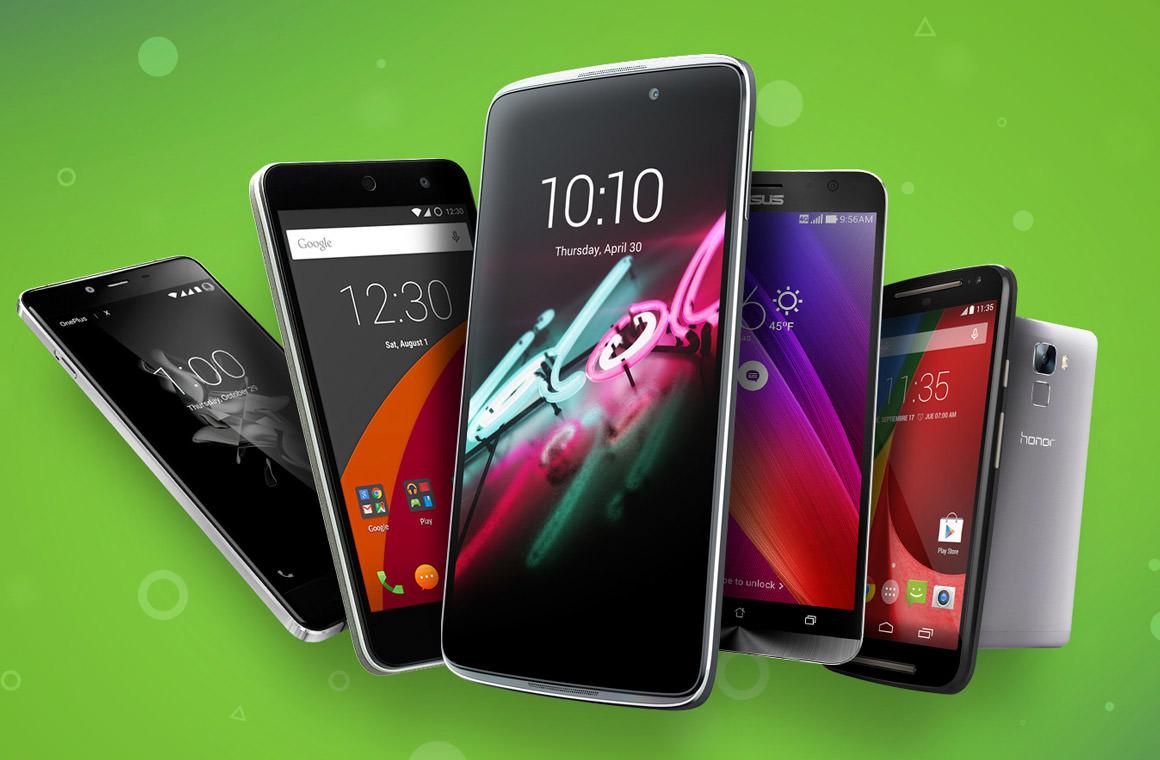 Самые популярные смартфоны