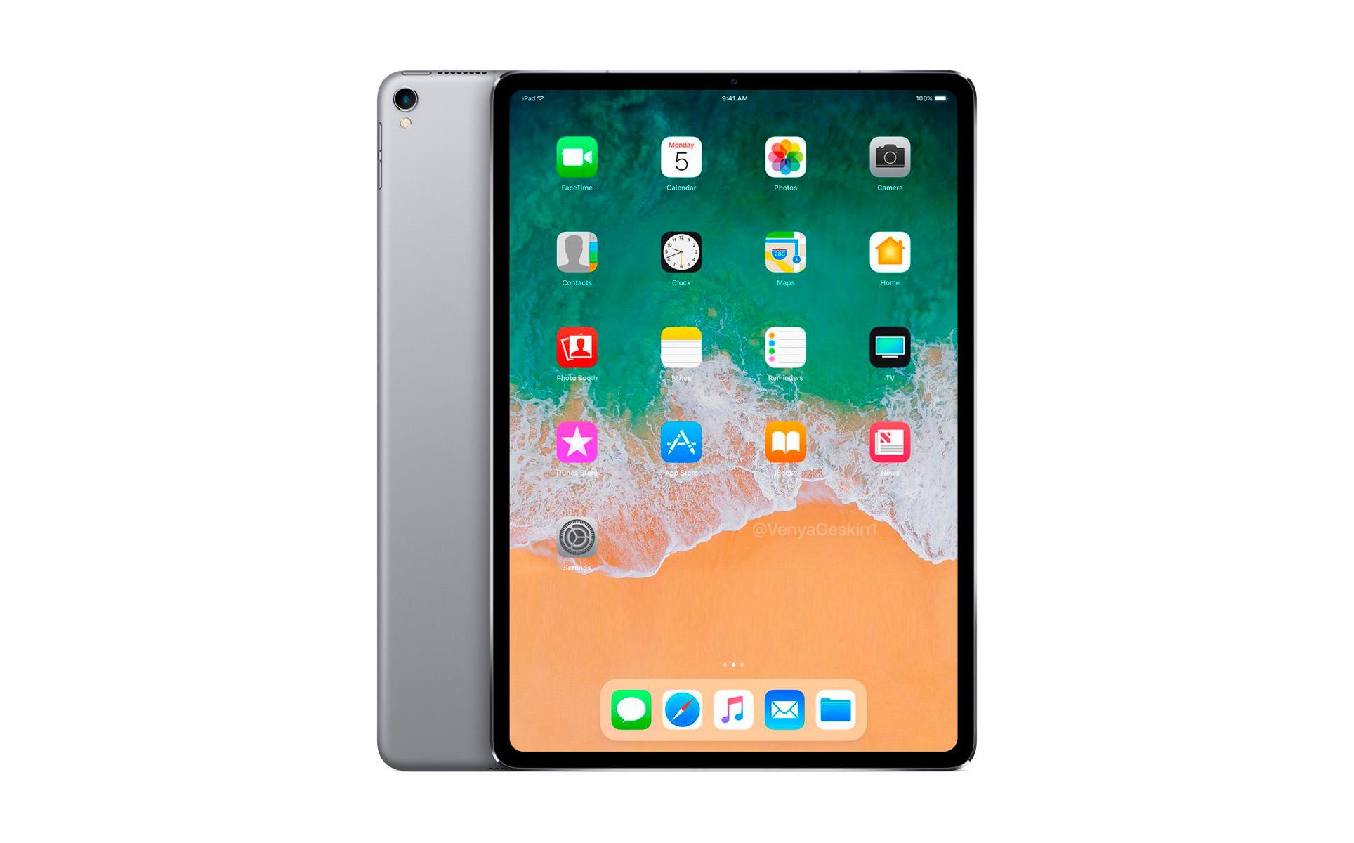 iPad pro 2018 face id