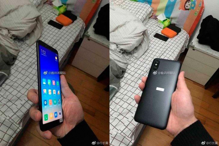 Xiaomi Mi 6X утечки
