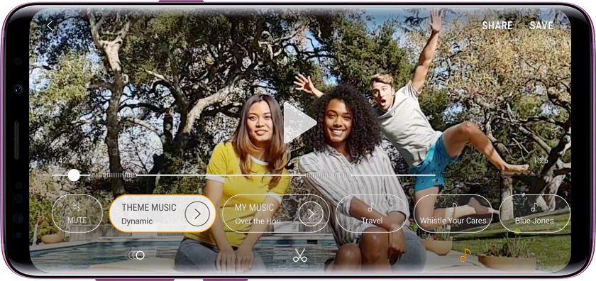 Камера Galaxy S9
