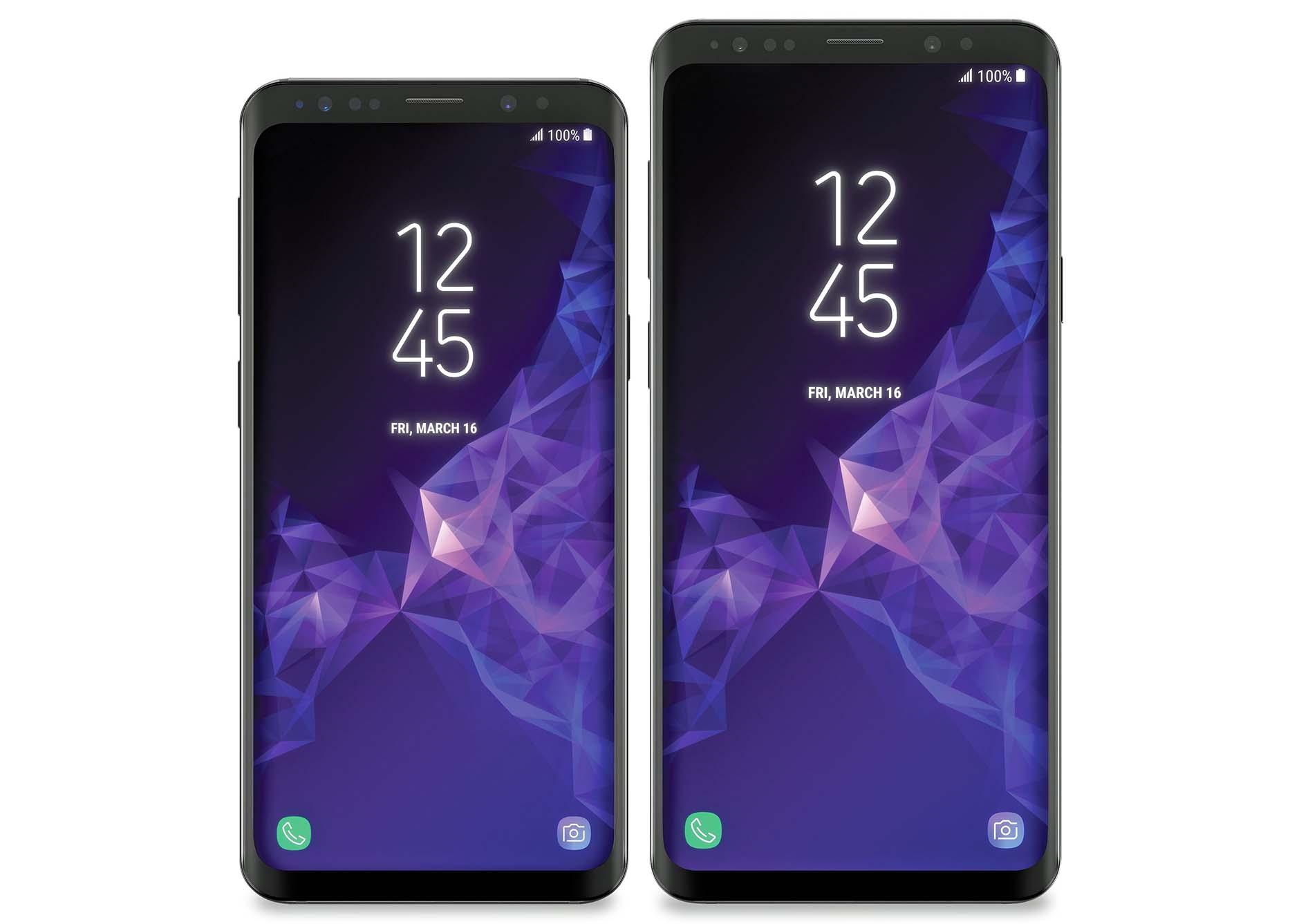 Экран Galaxy S9
