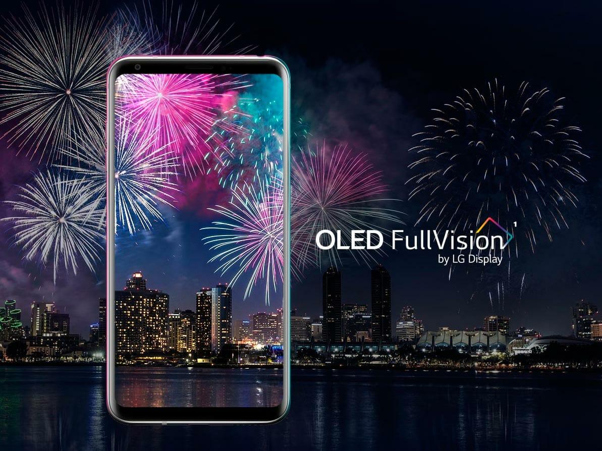 LG V30 дисплей
