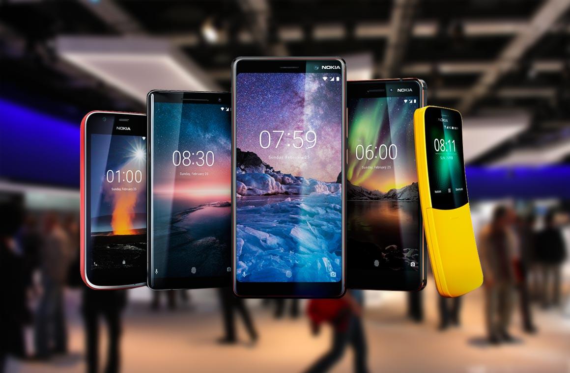 Nokia 7 Plus и еще 4 новых смартфона компании представлены на MWC 2018 -  THE ROCO 8c237c8db0728