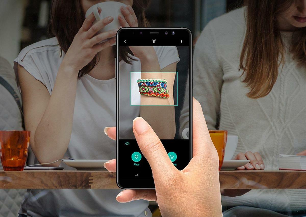 Samsung Galaxy A8 bixby
