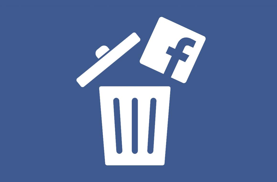 Удалить Facebook