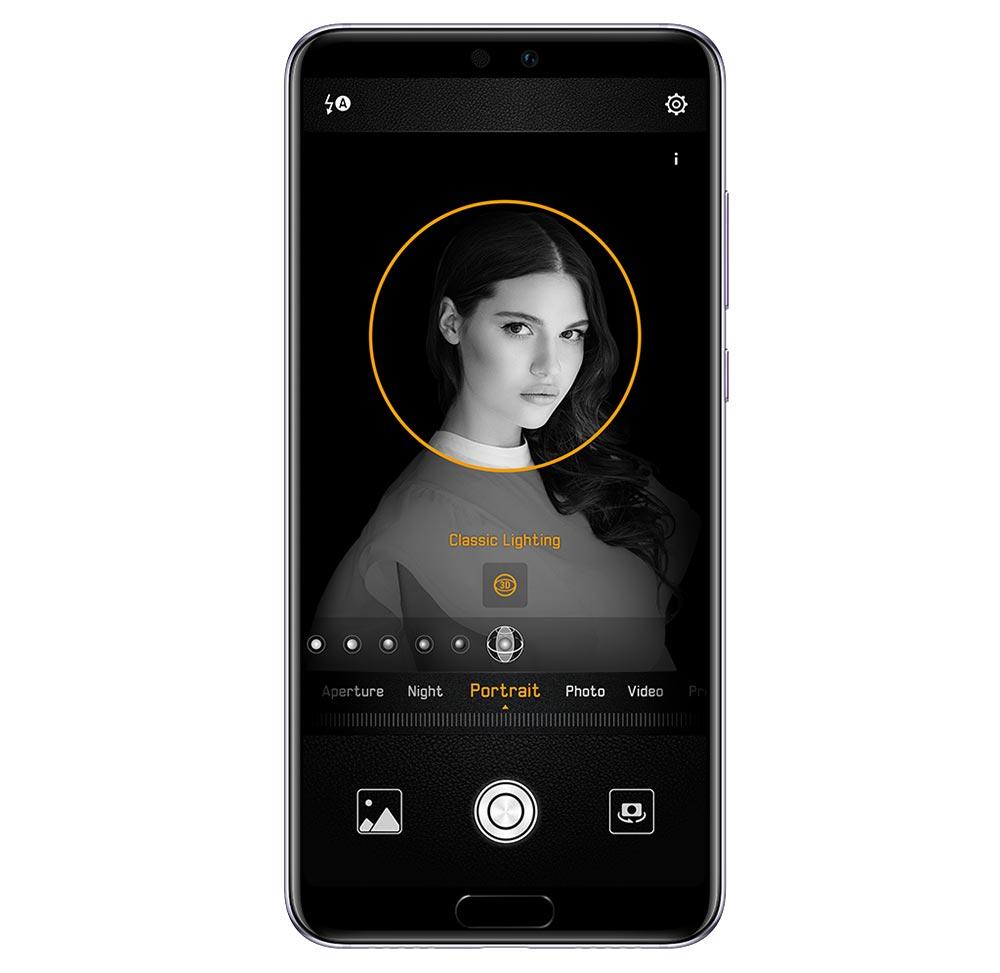 Huawei P20 портретный режим