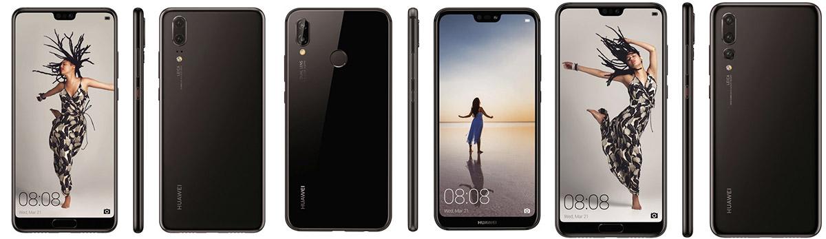Huawei P20 Pro, P20, P20 Lite