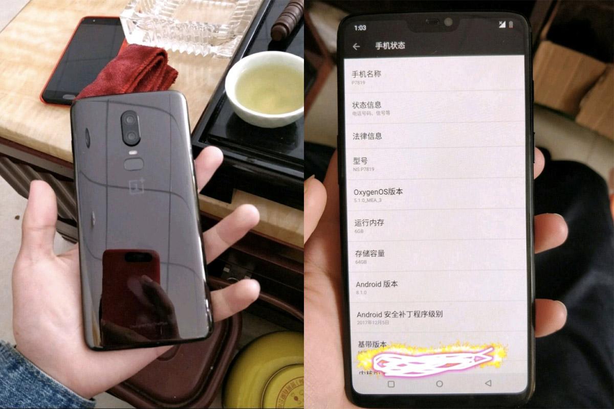 OnePlus 6 фото