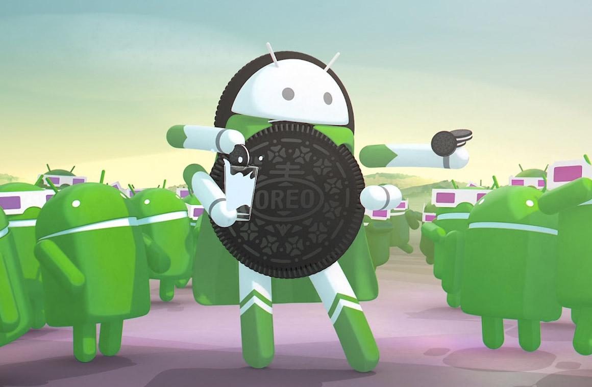 Иллюстрация операционной системы Android Oreo