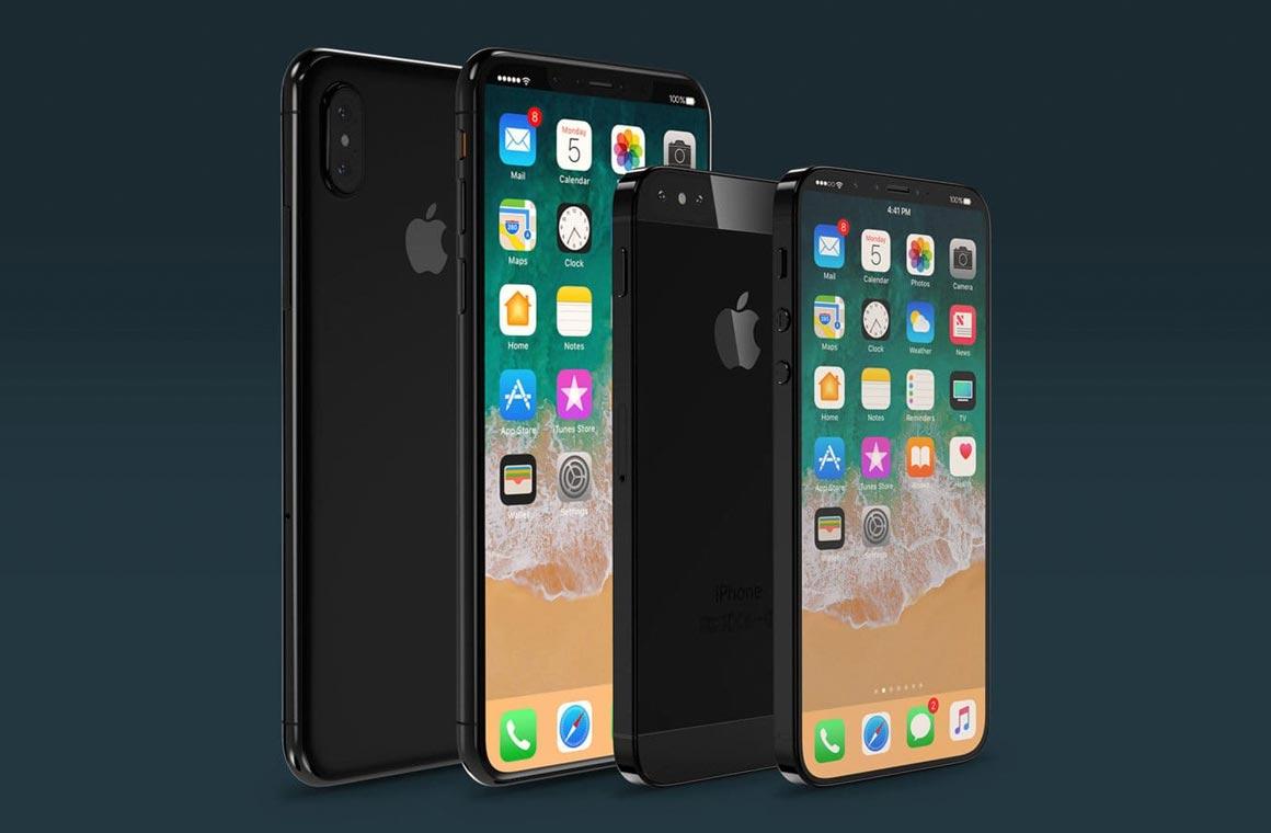 Рендеры новых смартфонов Apple