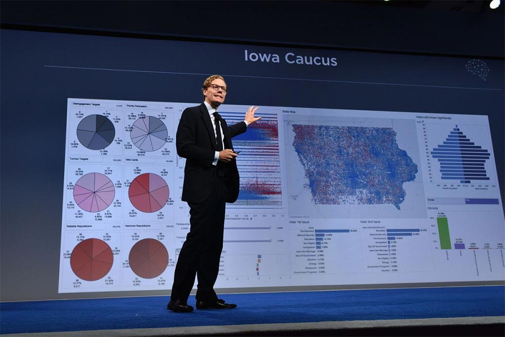 Александр Никс, CEO Cambridge Analytica