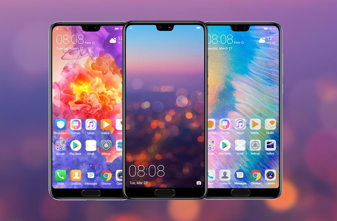 Смартфоны Huawei P20 и P20 Pro