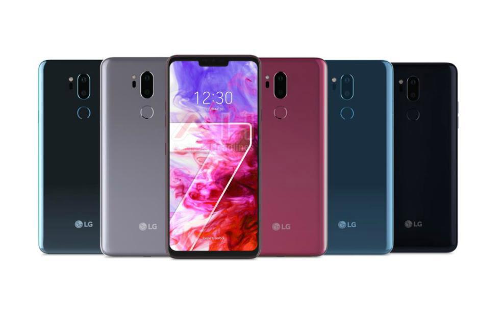Официальный рендер LG G7 ThinQ